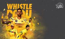 CSK Whistle Podu Video Song famous in social media - Sakshi