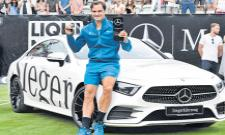 Roger Federer wins Mercedes Cup with victory over Milos Raonic - Sakshi