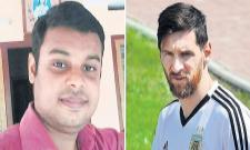 Messi Fan committed suicide in Kerala - Sakshi