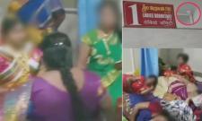 CC cameras found in womens dressing rooms in vijayawada - Sakshi