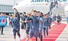 France top honour for World Cup team - Sakshi