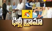 TDP MPs Drama in Delhi Over Special Category Status - Sakshi
