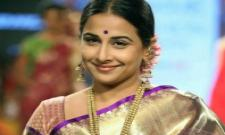 Vidya Balan  playing NTR's wife in role in NTR biopic - Sakshi