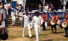 Viral video-Virat Kohli Enter the Ground in Style Against Essex - Sakshi