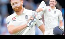 Chris Woakes and Jonny Bairstow combine to put England in complete control against India - Sakshi