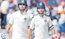 3rd Test: Virat Kohli, Ajinkya Rahane guide India to 307/6 on Day 1 - Sakshi
