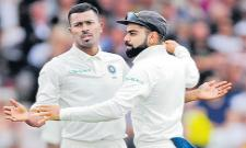 England v India: Hardik Pandya stars as tourists take control - Sakshi