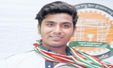 Zain clinches seven gold medals in TS Shooting Championship - Sakshi