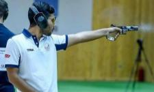 Saurabh Chaudhary clinched gold for India in 10m Air pistol men final - Sakshi