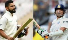 Stunning Similarity Between Kohli And Tendulkar 58th International Century - Sakshi