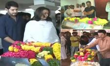 Tollywood celebrities Condolence To Director B Jaya - Sakshi