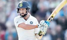 Pujara hits 132 to keep momentum with India in 4th test - Sakshi