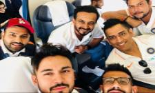 Rohit Sharma, MS Dhoni and 7 other Team India members depart early for Asia Cup - Sakshi