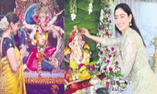 bollywood actors vinayaka chavithi celebrations - Sakshi