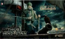 Amitabh Bachchan Look In Thugs of Hindostan - Sakshi