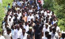 Day 266 of Praja Sankalpa Yatra begins - Sakshi