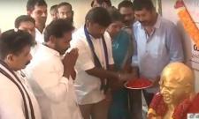 YS Jagan pays tribute to YSR on 9th death anniversary - Sakshi