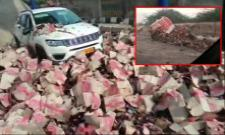 Truck Rams Toll Plaza In Rajasthan,Caught On CCTV - Sakshi