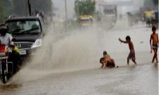 Cyclone Daye Crosses South Odisha, Heavy Rainfall In Several Parts Of State - Sakshi