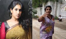 Actress Vanitha Case Files Against Father Vijay Kumar - Sakshi