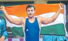 Deepak Punia to fight for junior wrestling world championship gold - Sakshi