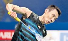 Malaysia Lee Chong Wei diagnosed with nose cancer - Sakshi