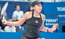 Naomi Osaka wins 10th straight match to power into Tokyo final - Sakshi
