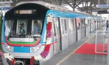 LB nagar-Ameerpet Metro Rail inaugurated By Governor narasimhan - Sakshi