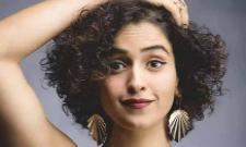 Sanya Malhotra opens up about her struggling days as an actor - Sakshi