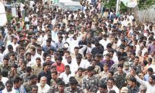 Ys Jagan PrajaSankalpaYatra Enters Vizianagaram - Sakshi