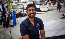 Commander Abhilash Tomy rescued, to be picked up by INS Satpura from Amsterdam Islands - Sakshi