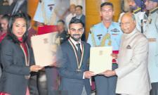 Excellent national sports awards ceremony - Sakshi