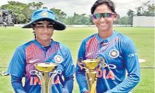 Indian womens team crush Sri Lanka by 51 runs to win series 4-0 - Sakshi