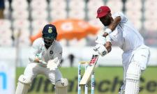 Roston Chase Leads West Indies Fight Back Against India In 2nd Test - Sakshi