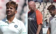 India suffer early blow as debutant Shardul hobbles out after sustaining groin strain - Sakshi