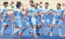 Indian hockey colts settle for silver after loss to Britain - Sakshi