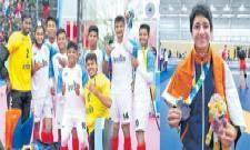 Simran adds wrestling silver to India's medal tally at YOG 2018 - Sakshi