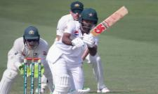 Fakhar Zaman becomes the fourth Pakistan batsman to be dismissed in the 90s on Test debut - Sakshi