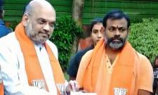 Swami Paripoornananda Joining In BJP - Sakshi