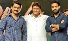 Netizens Trolls On Aravinda Sametha Success Meet - Sakshi