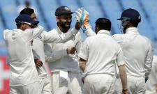 Dominant India Beat Listless Windies By An Inning And 272 Runs - Sakshi