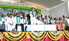 Chandrababu Shoots Telangana Farmers Says KTR - Sakshi