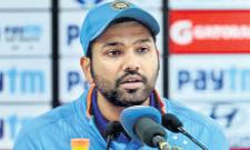 Rohit Sharma Says MS Dhoni Was A Big Miss In T20 Series - Sakshi
