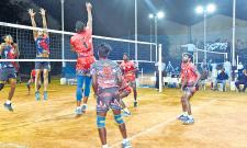 All India Volleyball Tourney Started - Sakshi