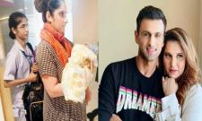Shoaib Malik Emotional Message About Family After Withdrawl From T10 League - Sakshi