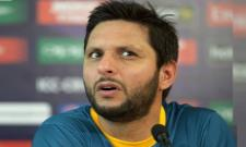 Shahid Afridi Controversy Comments On Kashmir - Sakshi