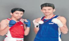 Ahmed, Muhammad got Gold Medals in State Boxing Championship - Sakshi