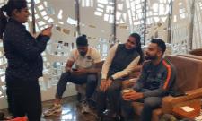 Virat Kohli Gang Departs For Gruelling Tour With Happy Faces - Sakshi