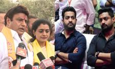 Jr NTR And Kalyan Ram Wishes To Suhasini - Sakshi