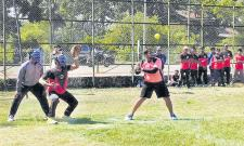 Telangana Teams won softball Championship Opener - Sakshi